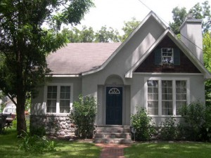 Another typical cottage in Houston's Lindale Park