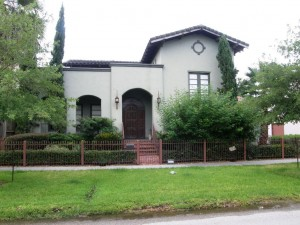 Mediterranean Style House in Houston Heights For Sale