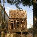 Framing of 1017A Waverly