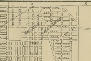 Sunset Heights Map