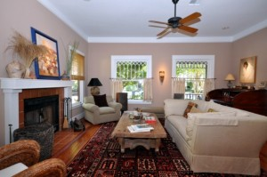 Living Room of 1229 Columbia St, Houston Heights Home for Sale