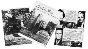 Lindale Park, Old Sales Brochure