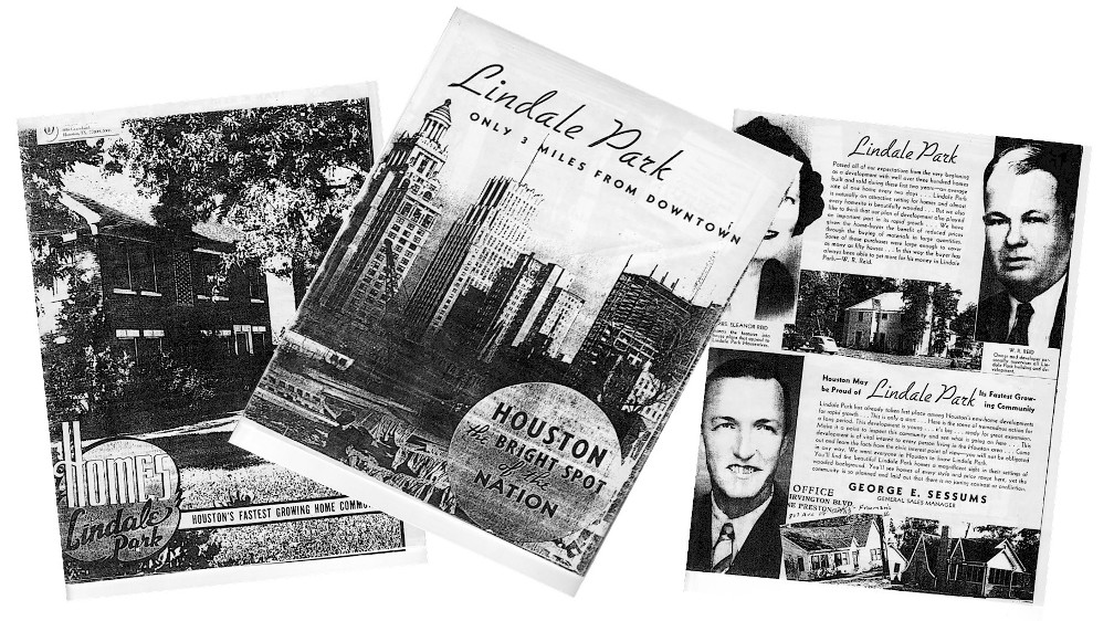 Lindale Park- 1940's Sales Brochure
