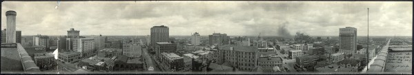 Houston Skyline-1924-When Heights Area Was Booming