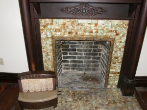 Fireplace in Old House