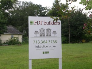 Final Notes on HDT Builders' 2 New Houston Heights Homes