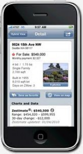 Houston house search mobile app from Zillow