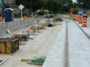 Lindale Park Rail Update