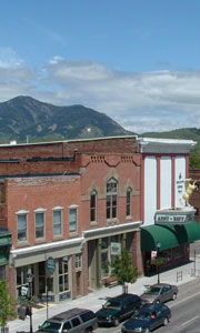 Downtown Bozeman...Like Houston Heights