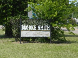 Brooke Smith Sign