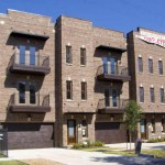 Townhomes in HoustonHeights by Ascent Homes.