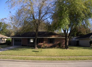 Typical Oak Forest 1950's style home.