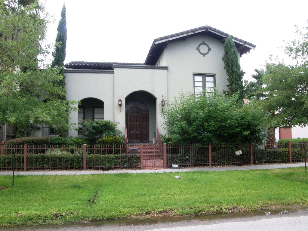 Mediterranean style house in houston heights for sale Mediterranean homes for sale