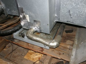 Water Dripping In Drip Pan Ac Unit