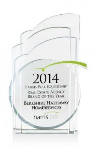 Berkshire Hathaway HomeServices Award