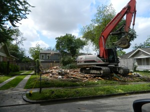 Bulldozed Heights House