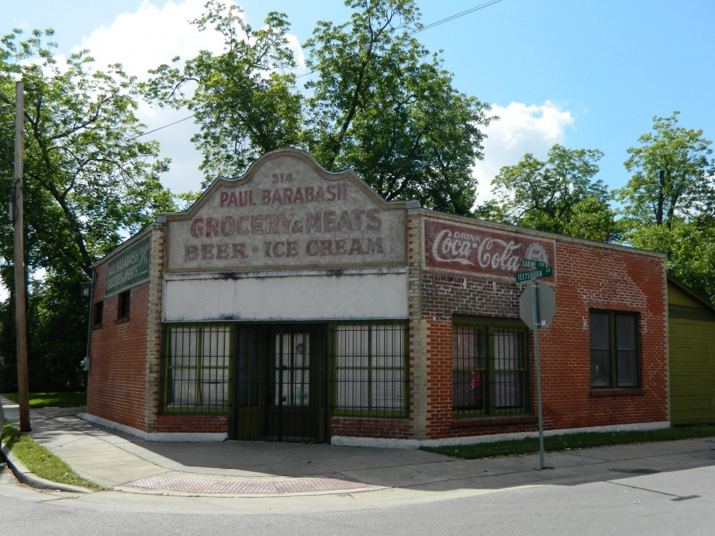 Old Woodland Heights Storefront