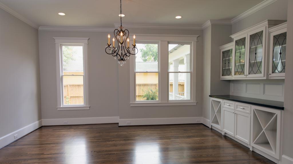Remodel dining room 2017 grasscloth wallpaper 12 oaks for Dining room renovation