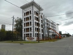 Houston Heights-Big New Apartment Complexes