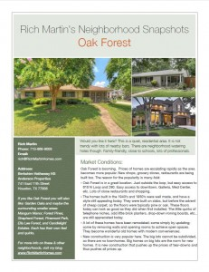 Oak Forest Snapshot