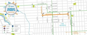 Houston Heights Hosts Sunday Streets 4/26/15