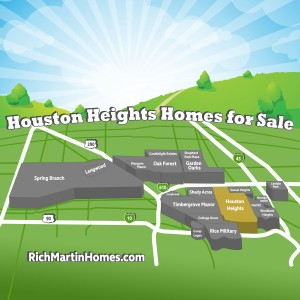 Greater Houston Heights Homes for Sale