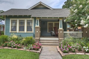 Woodland Heights Craftsman style home