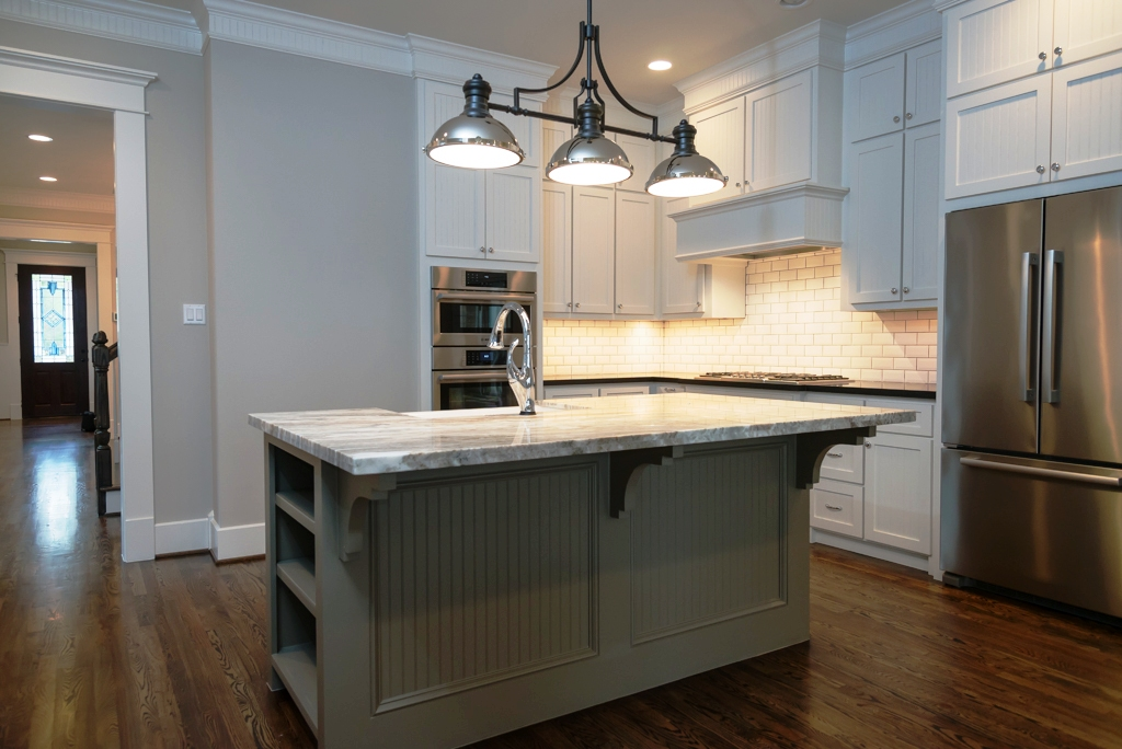 Houston Heights new kitchen 220 W 24th St.