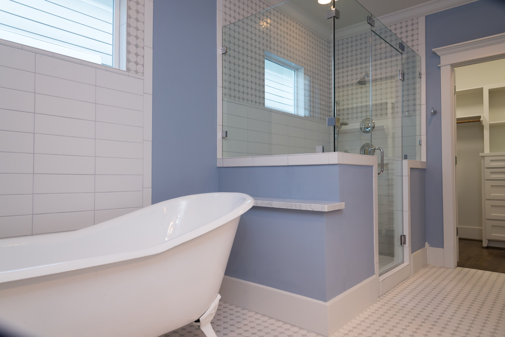 master bath of HDT home