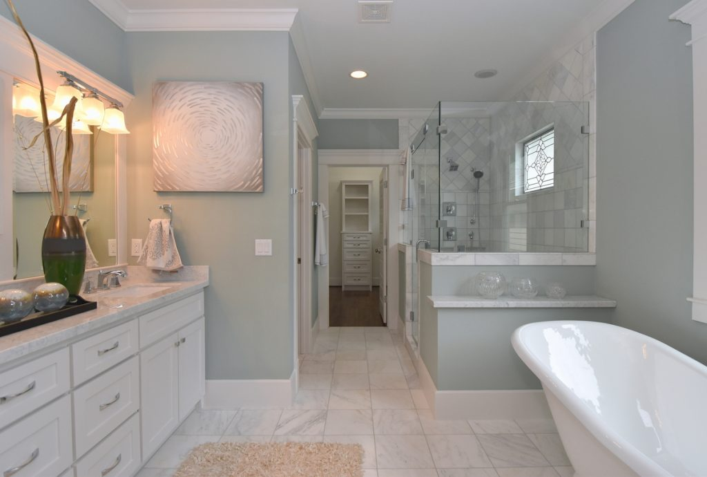 Houston Heights home master bath