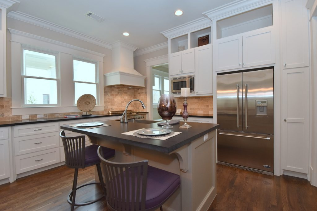 KItchen of Houston Heights home