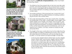 Guidelines for New Construction in Historic Heights