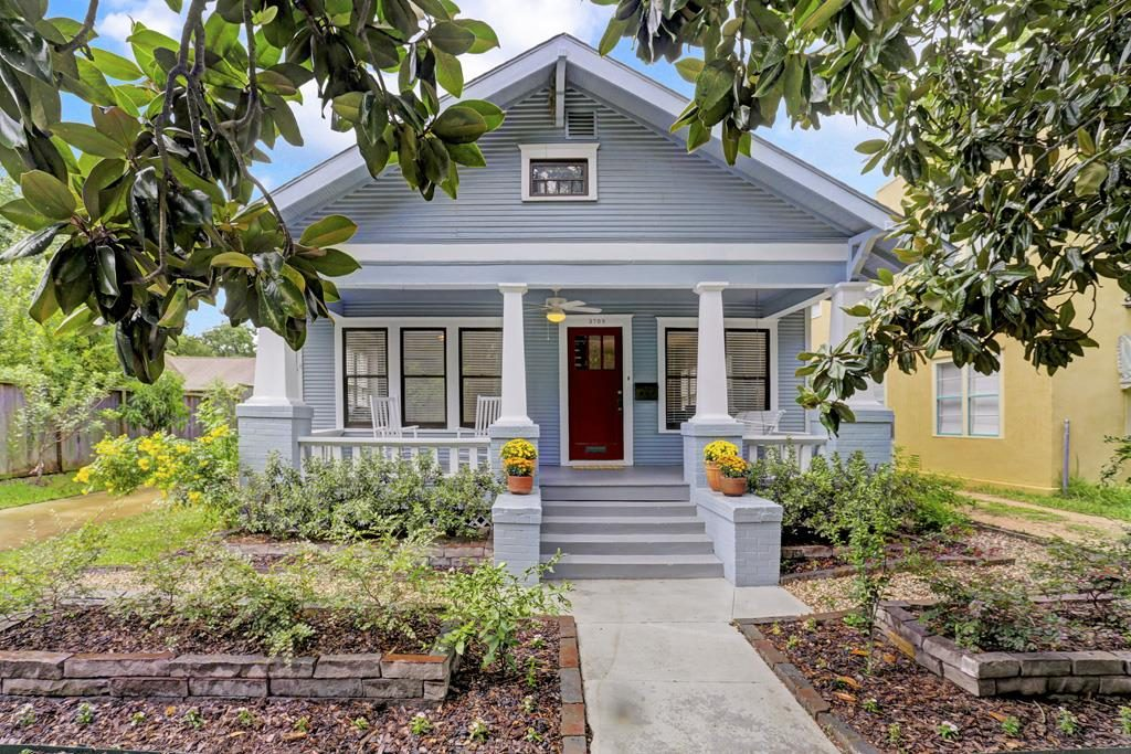 Craftsman style bungalow in the Heights