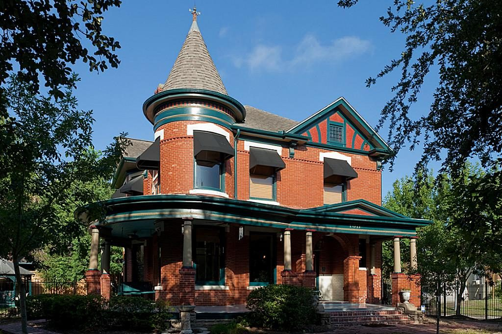 Queen Anne home-Houston Heights