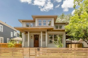 prairie style new home in Brooke Smith Heights