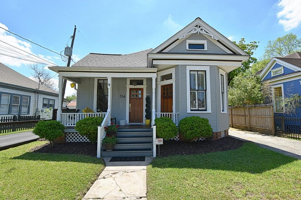 Houston Heights Victorian Home For Sale Rich Martin
