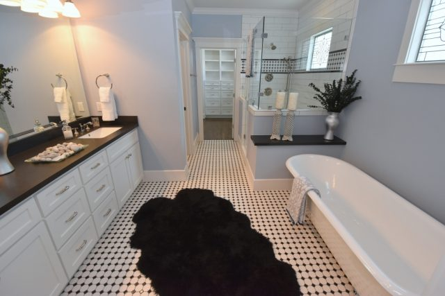 Heights stunning bath