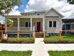 Houston Heights Modern Farmhouse just Completed