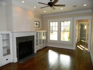 Living Room of HDT's New Home