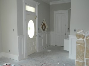 Original Entry Retained in Renovation