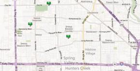 Spring Branch Homes-Map